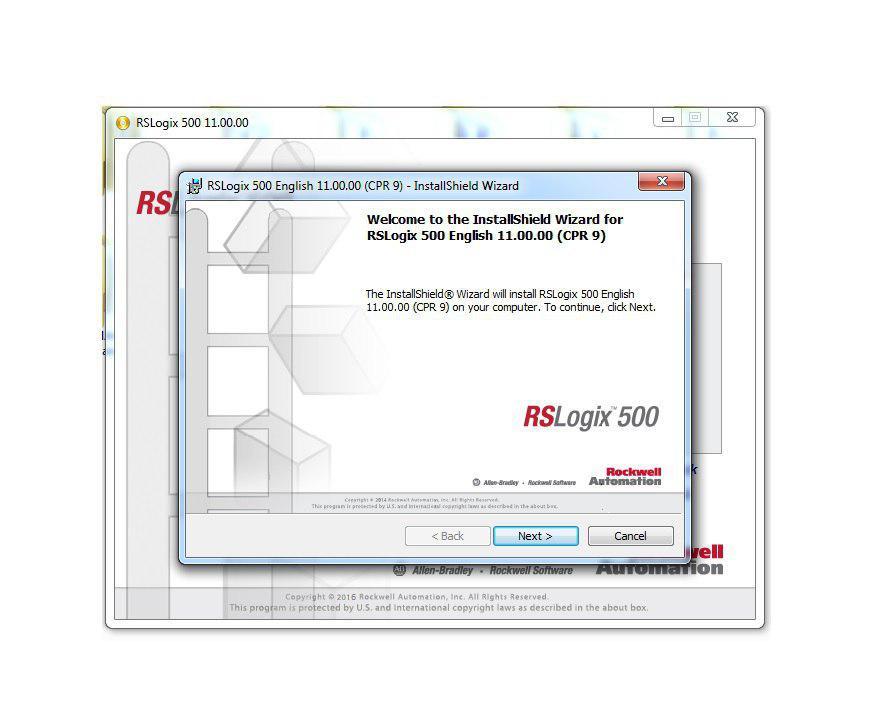 نرم افزار RS LOGIX 500