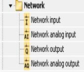 کتابخانه network لوگو