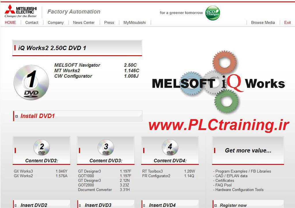 نرم افزار Melsoft iQ Works v2.50