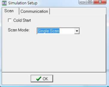 single scan
