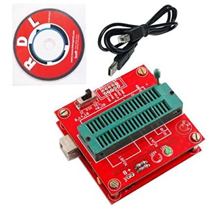 نمونه ای از دستگاه های پروگرمر که برای برنامه ریز میکروکنترلر استفاده میشود.